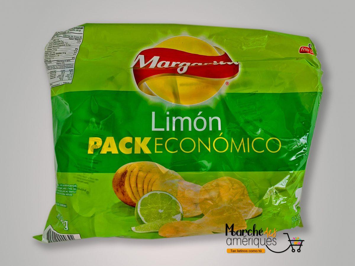 Papas Limon Margarita 12 Und