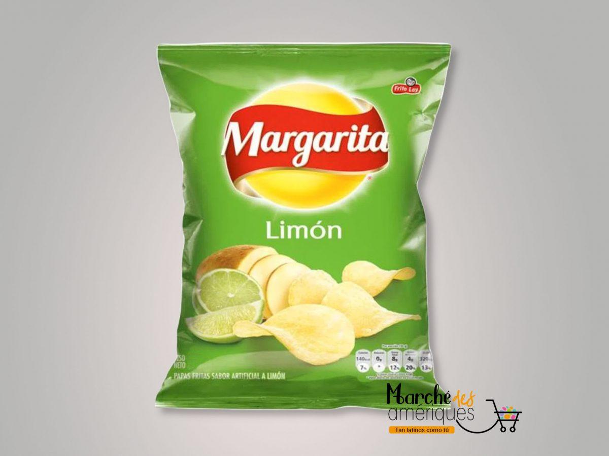 Papas Limon Margarita 25 G