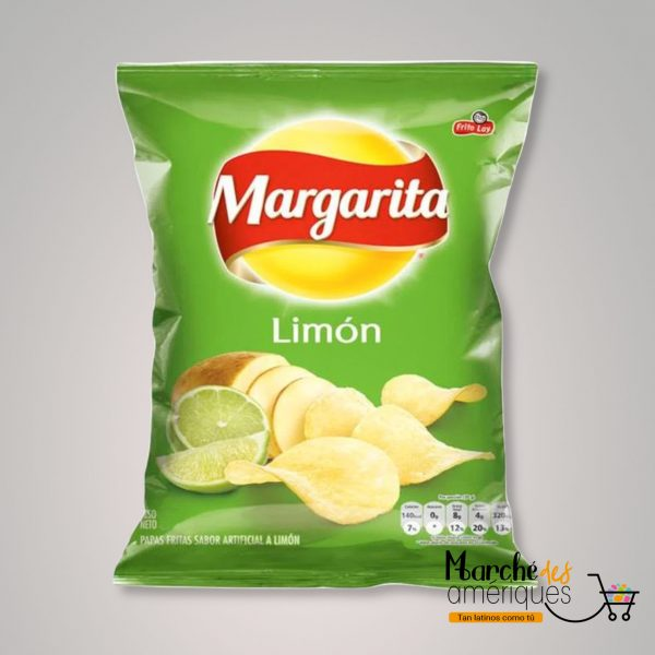 Papas Limon Margarita 25 G