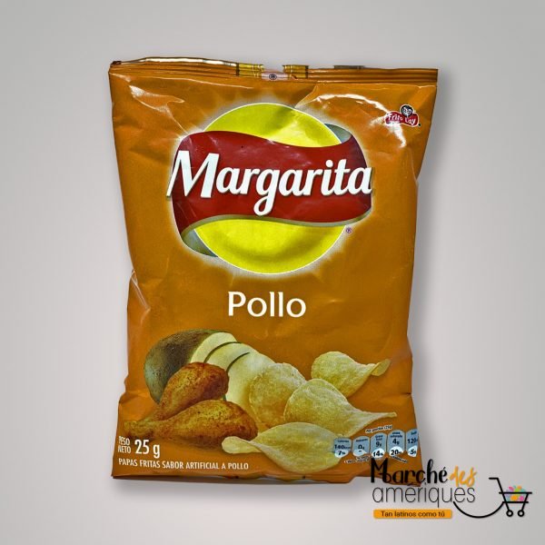 Papas Pollo Margarita 25 G