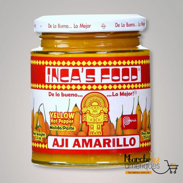 Pasta Pimienta Aji Amarillo Incas Food 2126 G