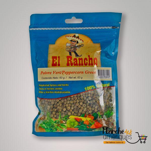 Pimienta Verde El Rancho 60 G