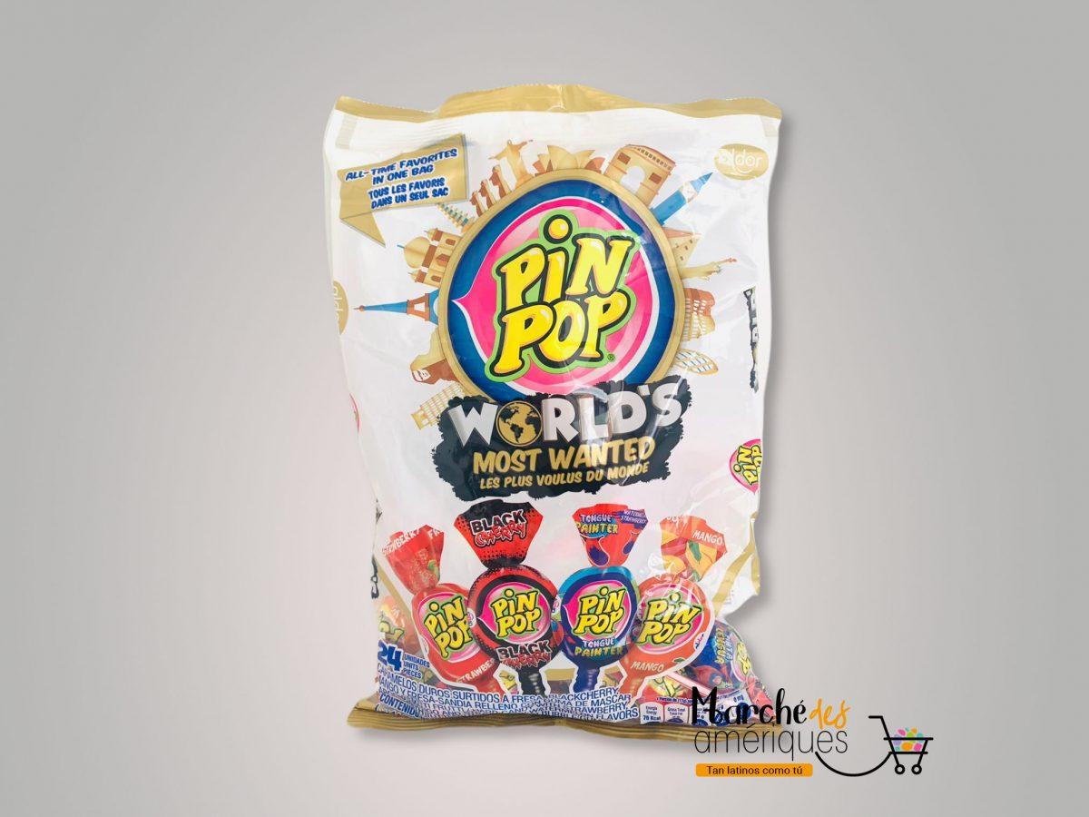 Pinpop Los Mas Buscados Del Mundo Aldor 24 Und