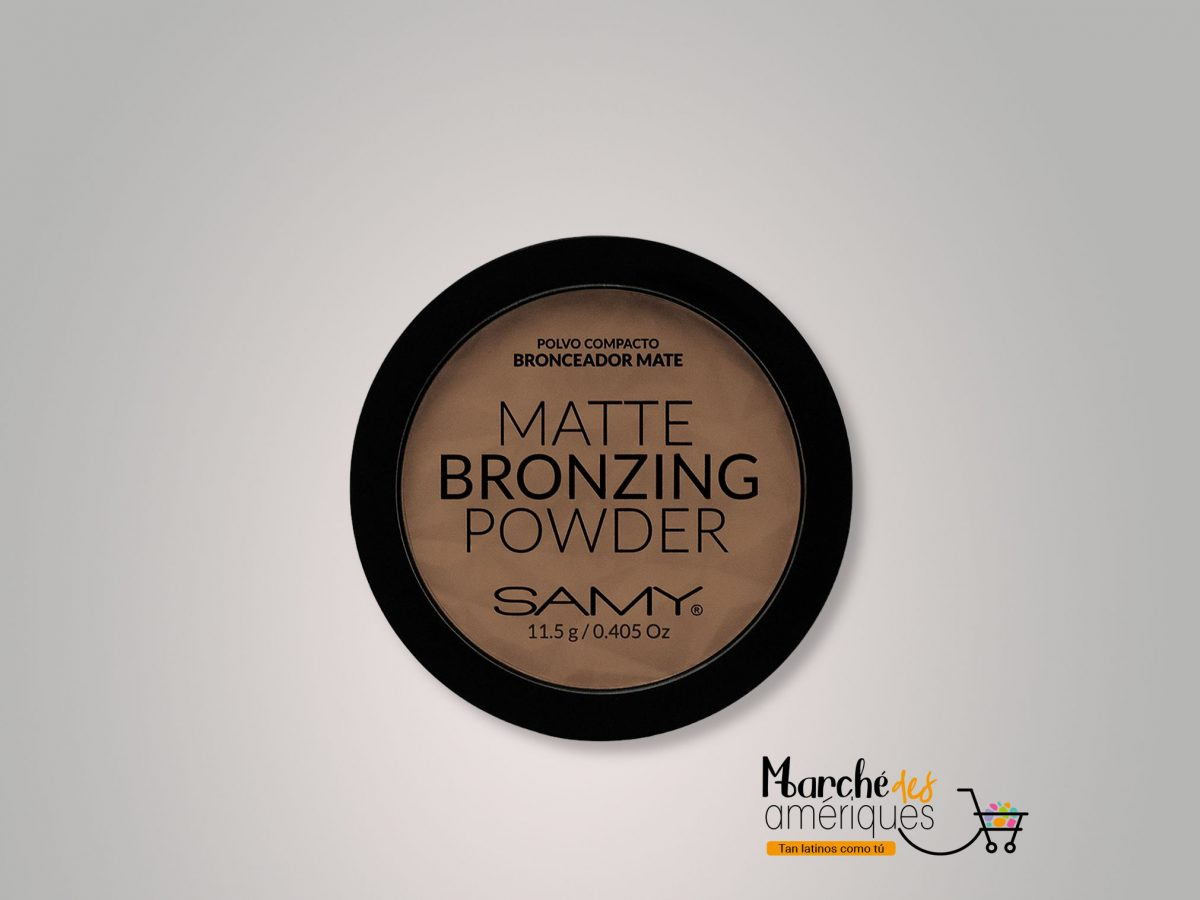 Polvo Compacto Bronceador Mate 01 Sunkissed Samy 45 G