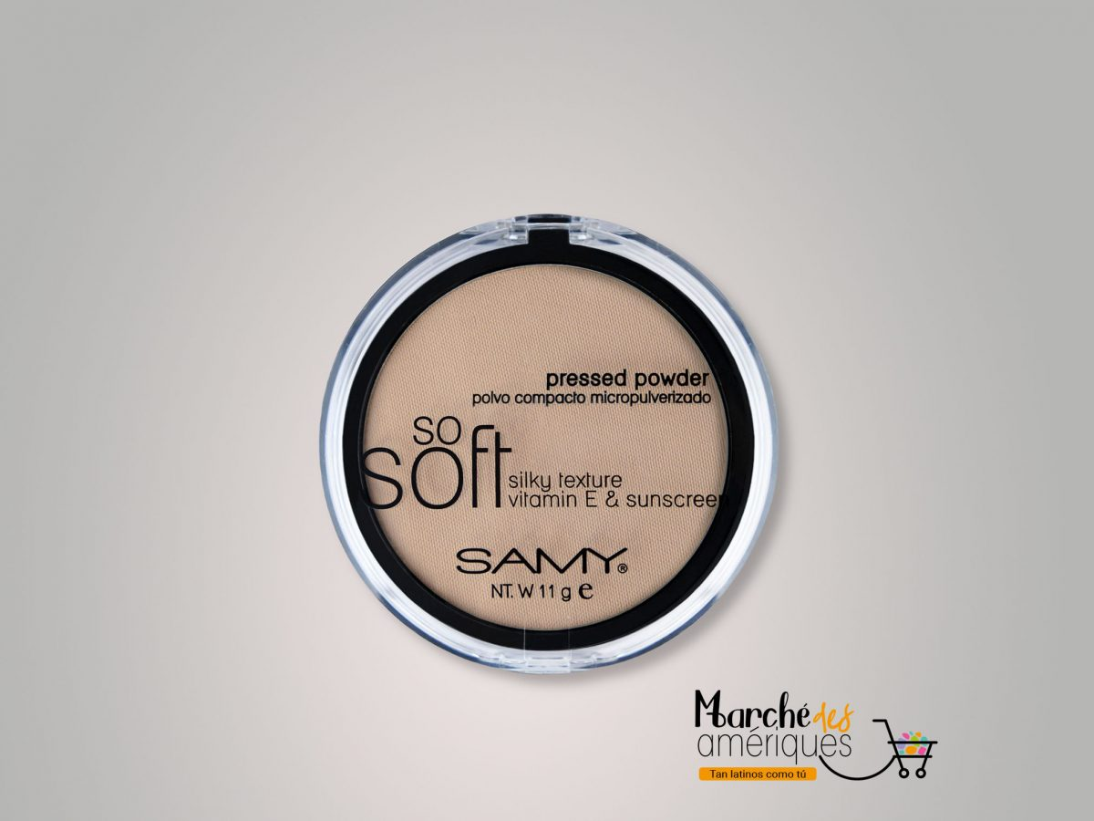 Polvo Compacto Micropulverizado So Soft Mineral 02 Beige Samy 11 G