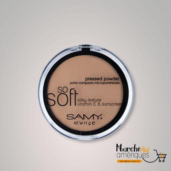 Polvo Compacto Micropulverizado So Soft Mineral 05 Aceituna Samy 11 G