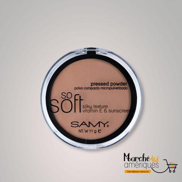 Polvo Compacto Micropulverizado So Soft Mineral 06 Canela Samy 11 G