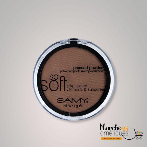 Polvo Compacto Micropulverizado So Soft Mineral 09 Ebano Samy 11 G