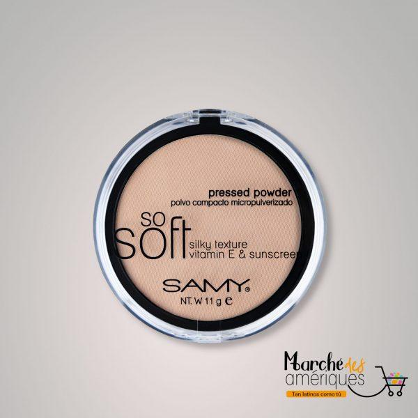 Polvo Compacto Micropulverizado So Soft Mineral 1 Natural Samy 11 G