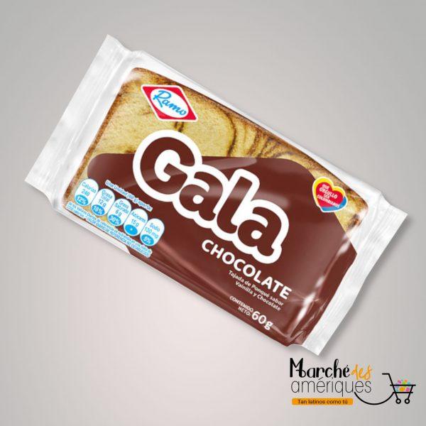 Ponque Gala Chocolate Ramo 60 G