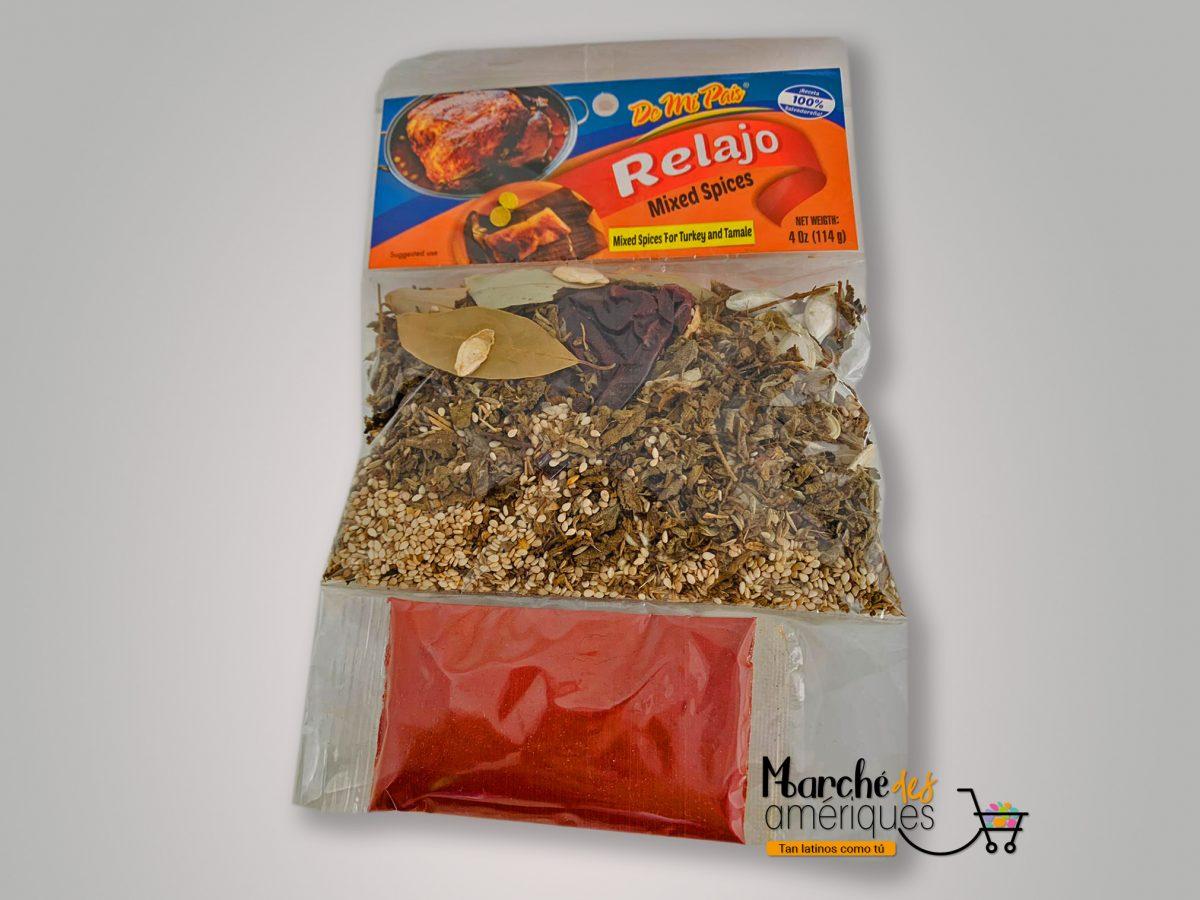 Relajo Mix Spices De Mi Pais 114 G