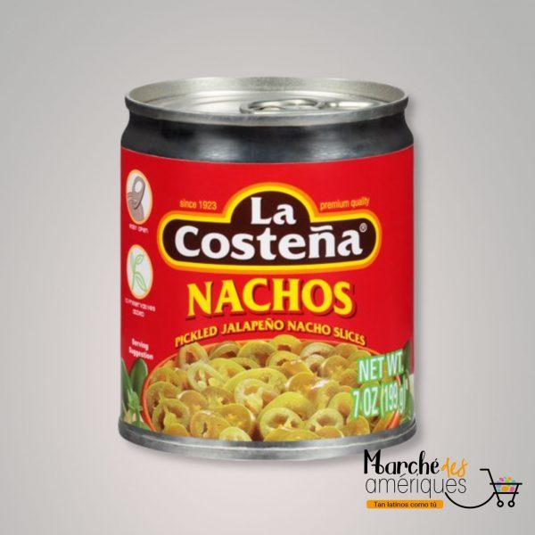 Rodajas De Jalapenos De Nachos La Costena 199 Ml