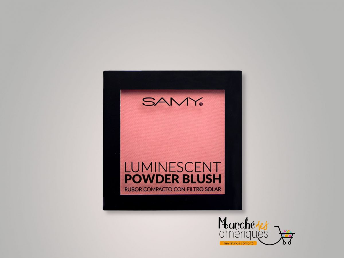 Rubor Compacto Luminescent 01 Flamingo Samy 6 G