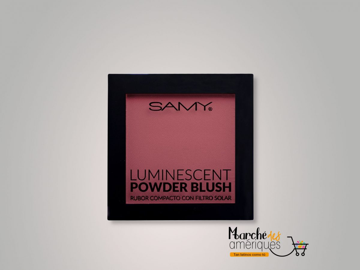 Rubor Compacto Luminescent 03 Watermelon Samy 6 G
