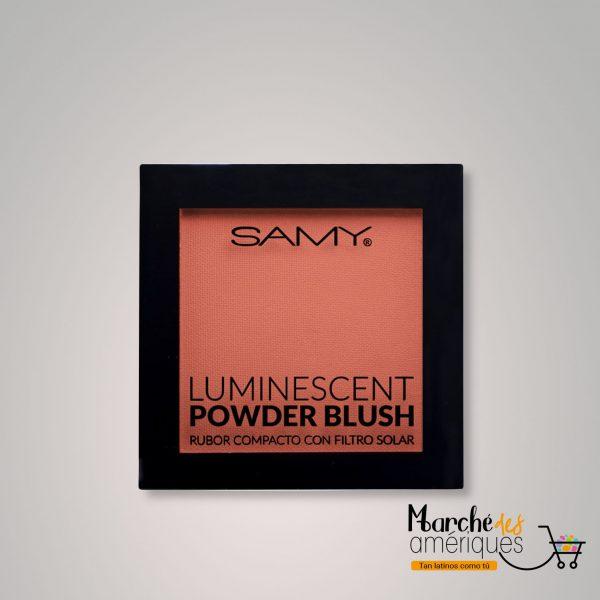 Rubor Compacto Luminescent 04 Rose Peach Samy 6 G