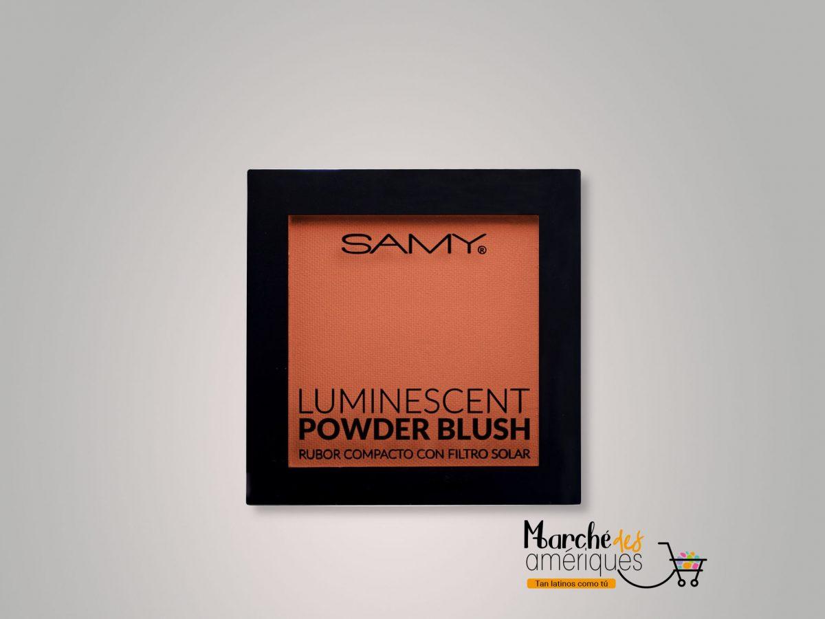 Rubor Compacto Luminescent 05 Orange Pink Samy 6 G