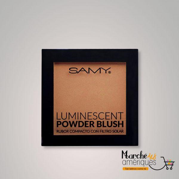 Rubor Compacto Luminescent 06 Champagne Bronze Samy 6 G