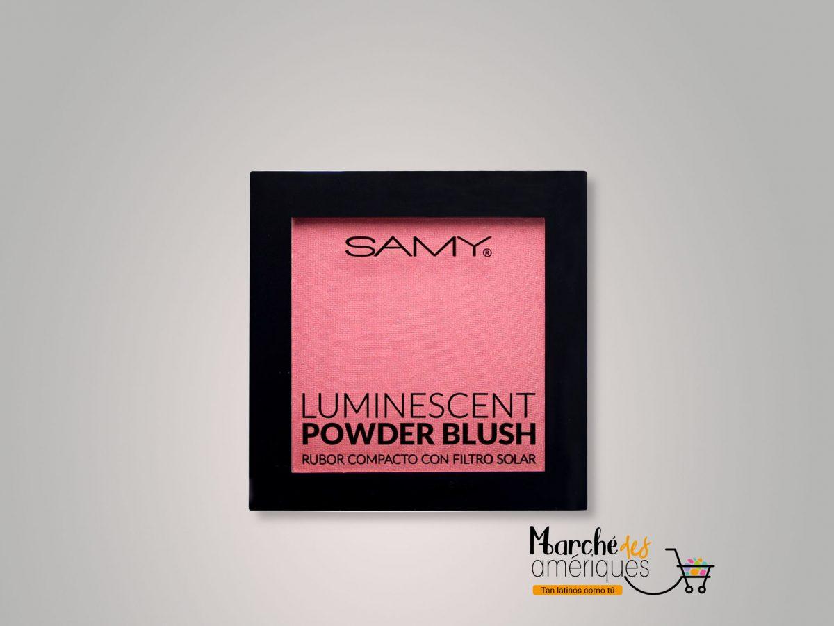 Rubor Compacto Luminescent 07 Rose Petal Samy 6 G
