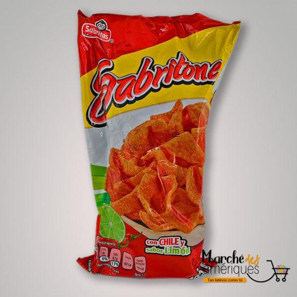 Sabritones Frituras De Harina De Trigo Con Chile Y Limon Sabritas 165 G