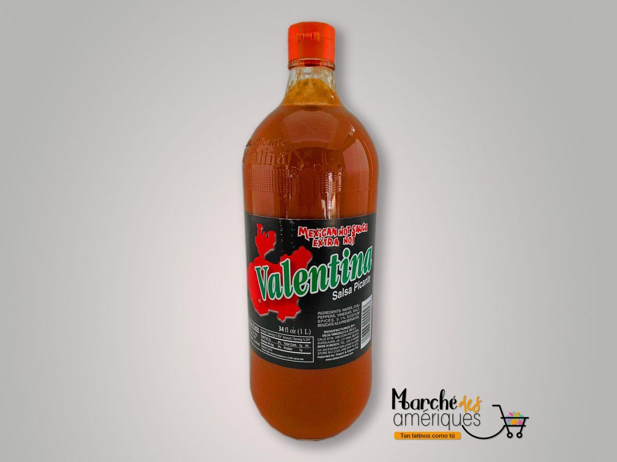 Salsa Extra Picante Valentina Negra 1 L