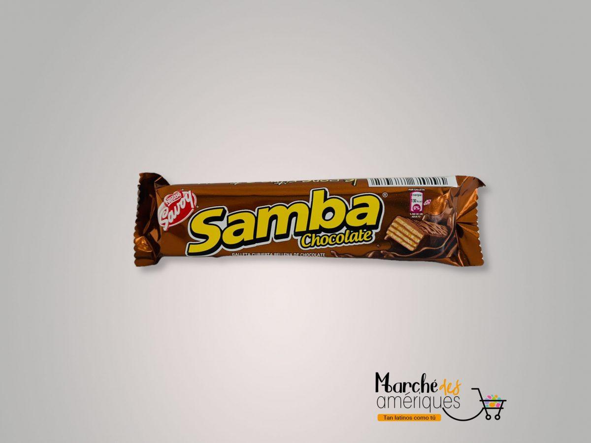 Samba Galleta Cubierta De Chocolate Nestle Savoy 32 G