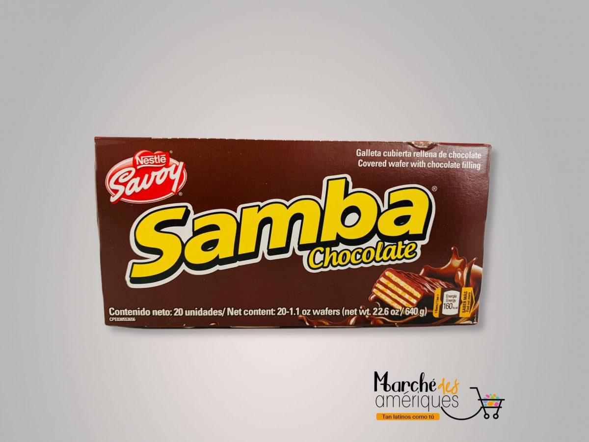 Samba Galleta Cubierta De Chocolate Nestle Savoy 640 G