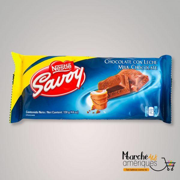 Savoy Chocolate Con Leche Nestle 130 G
