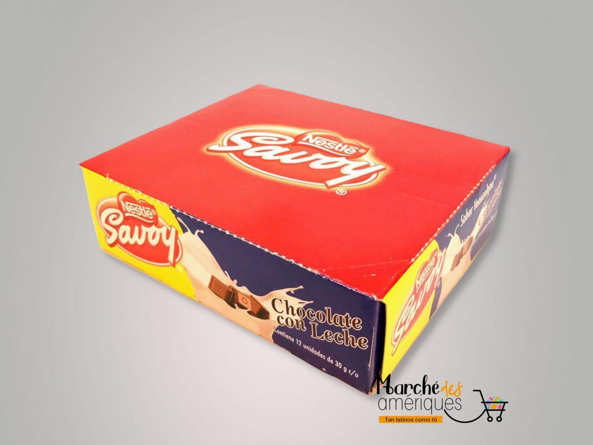 Savoy Chocolate Con Leche Nestle 360 G
