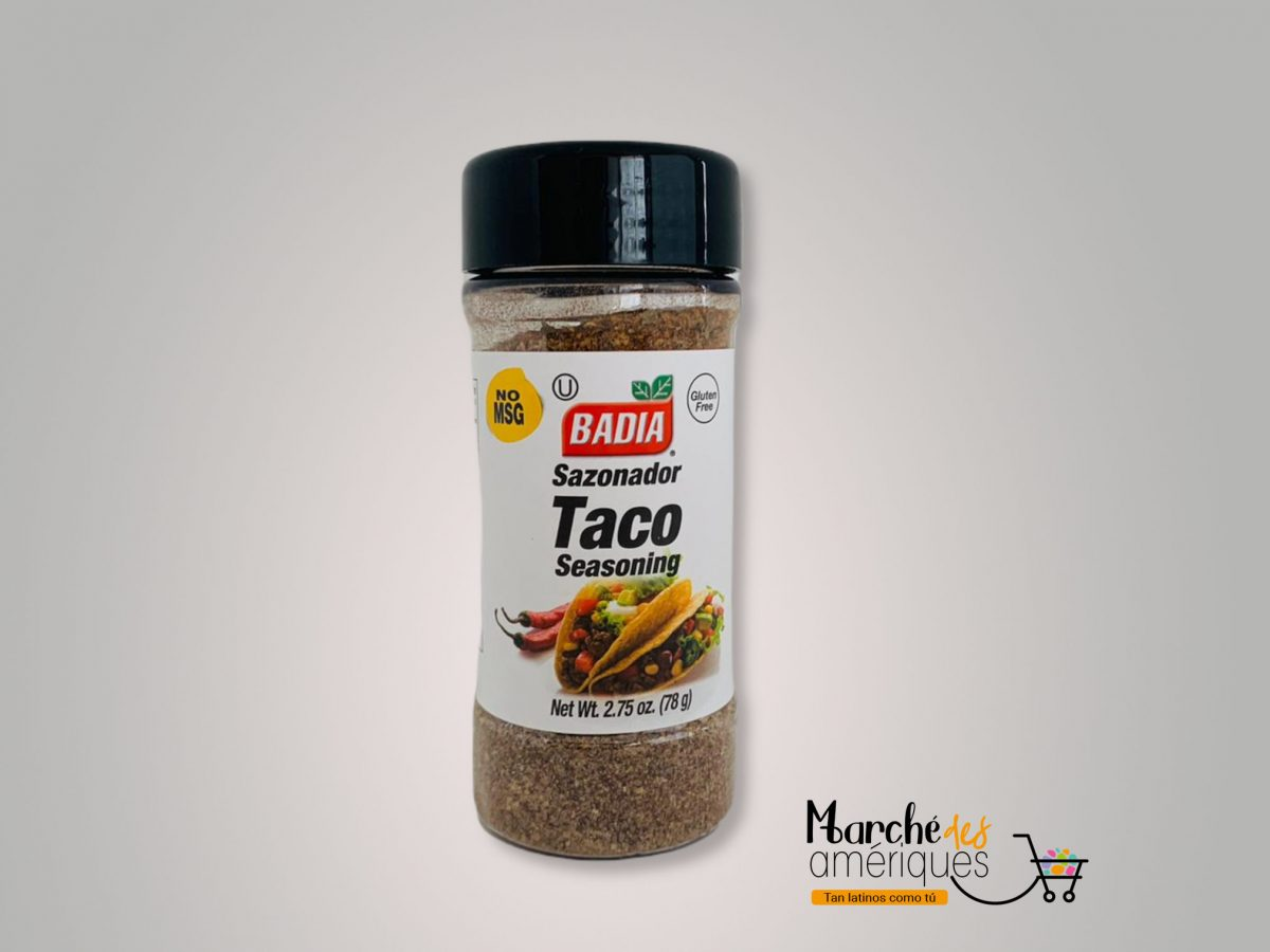 Sazonador Taco Badia 78 G