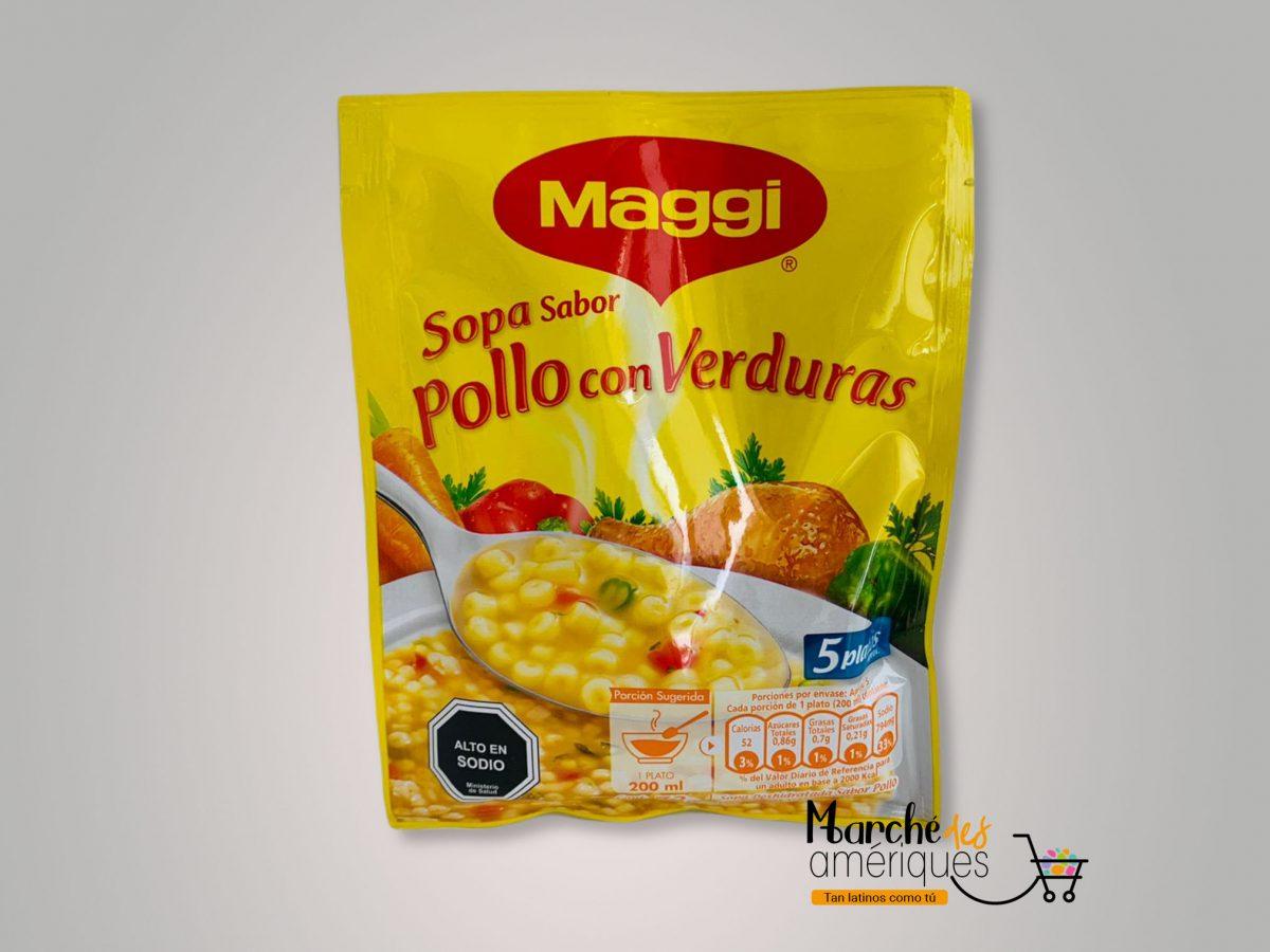 Sopa Sabor Pollo Con Verduras Maggi 73 G