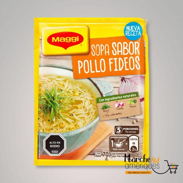 Sopa Sabor Pollo Fideos Maggi 70 G