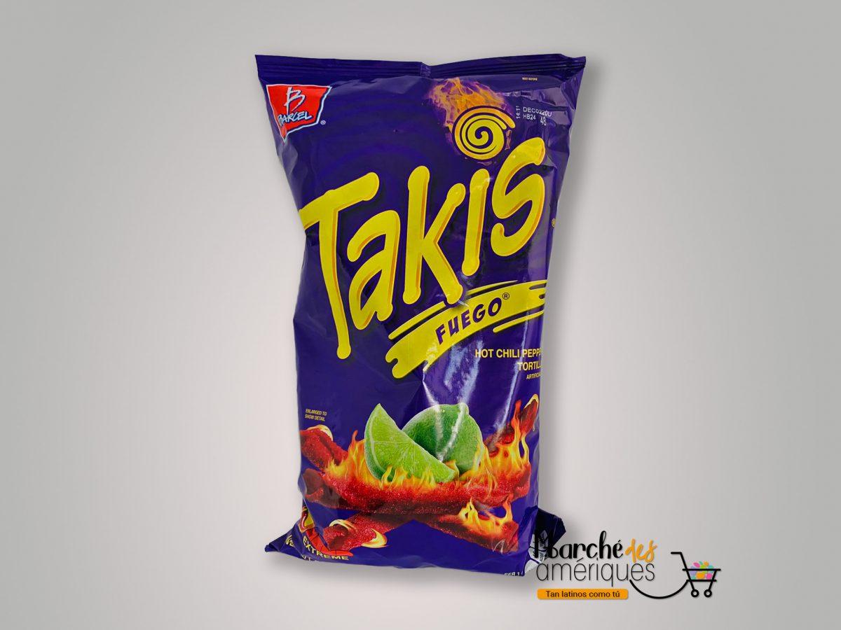 Takis Fuego Tortilla Chips Barcel 280 G