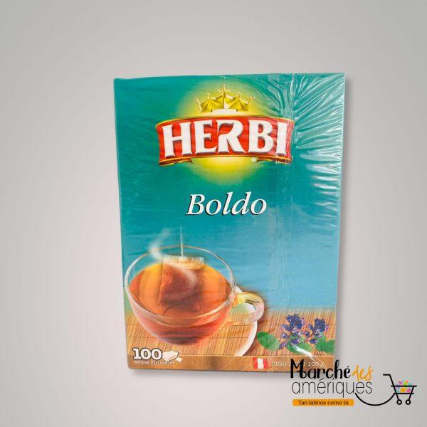 Te De Boldo Herbi 100 Und