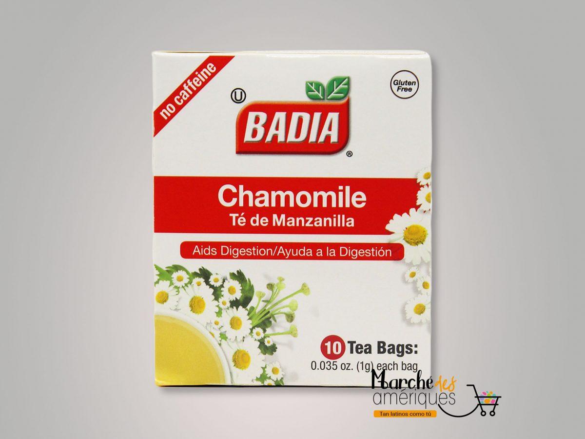 Te De Manzanilla Badia 10 Und