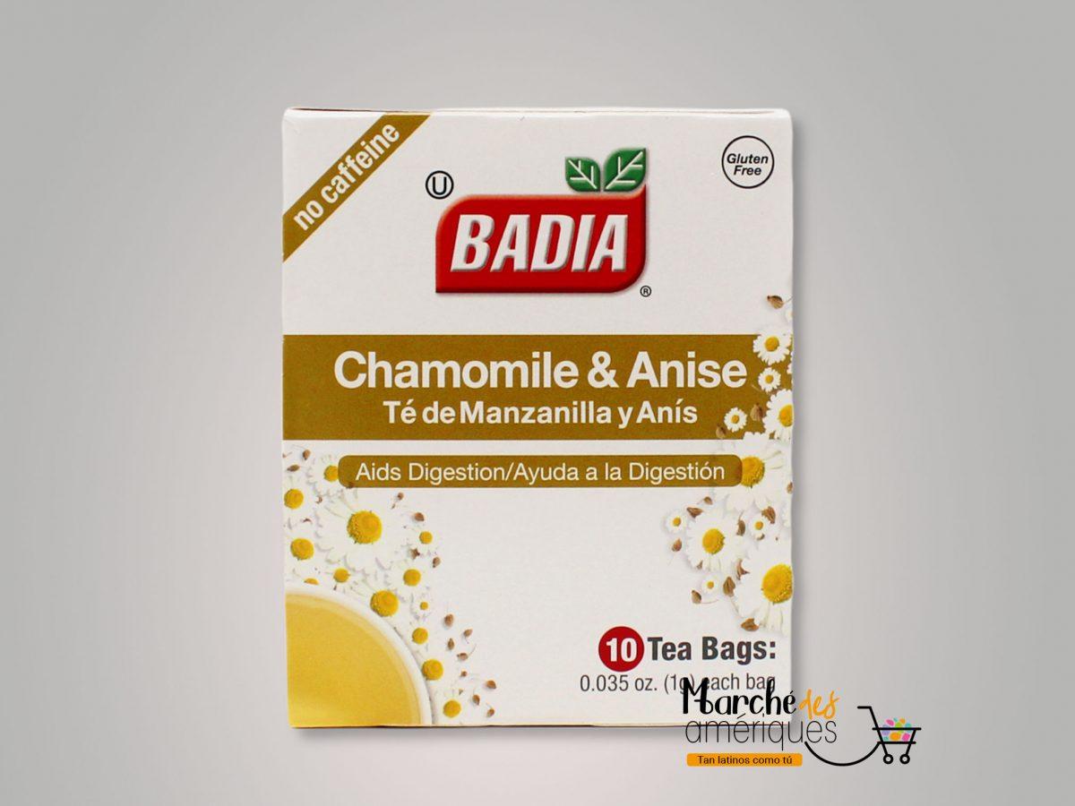 Te De Manzanilla Y Anis Badia 10 Und