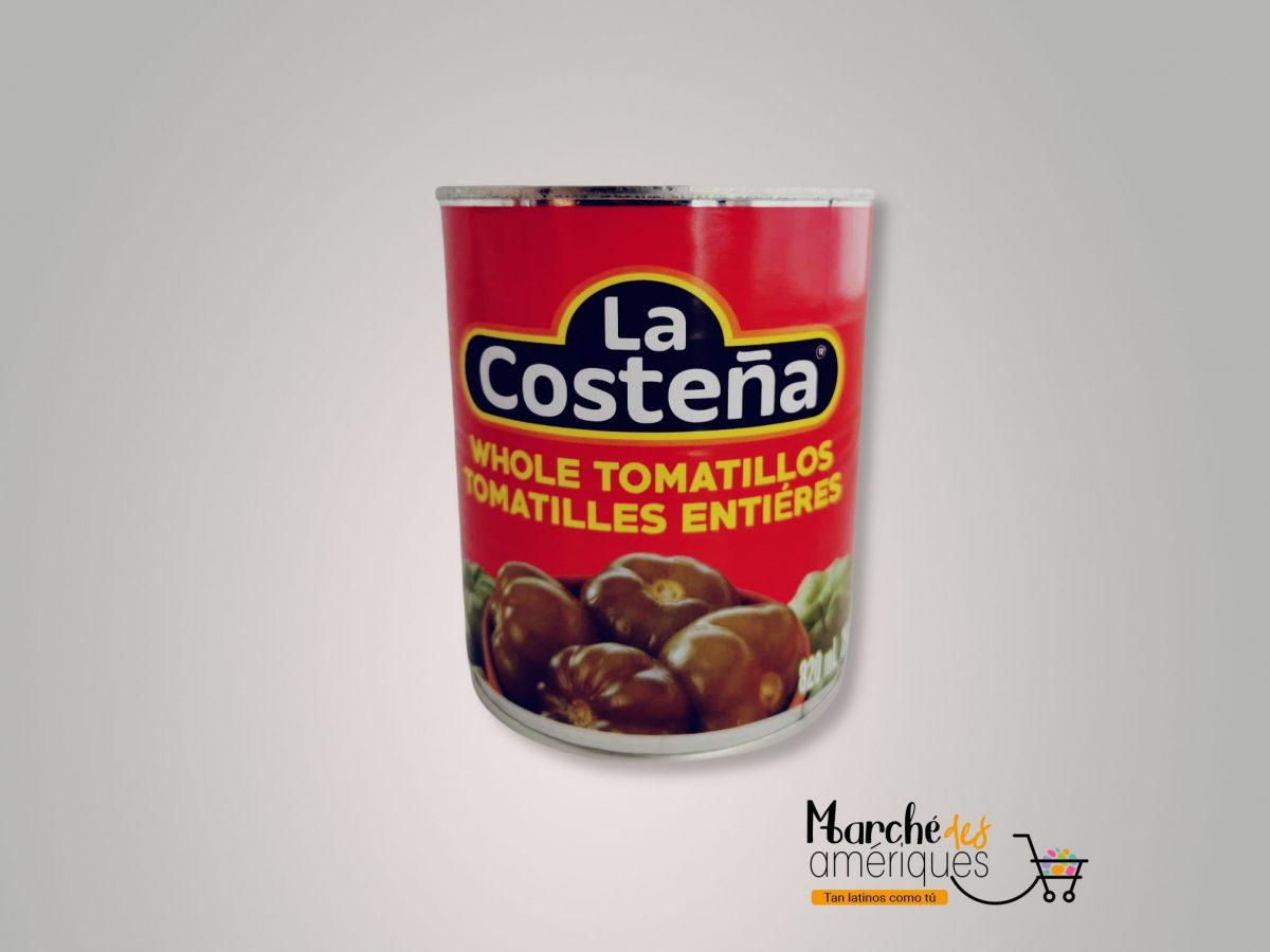 Tomatillos Enteros La Costena 820 Ml