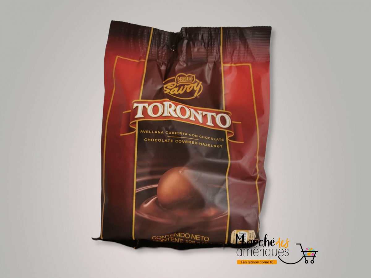 Toronto Savoy Avellana Cubierta Con Chocolate Nestle 125 G