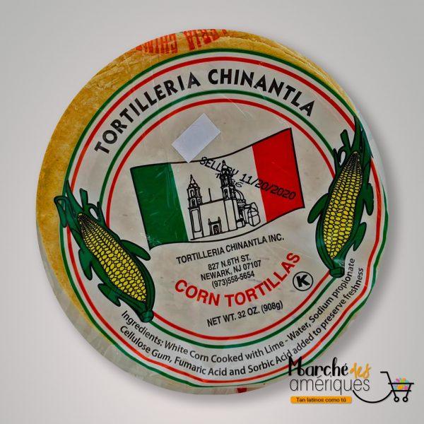 Tortilla De Maiz Amarilla Chinatla 908 G
