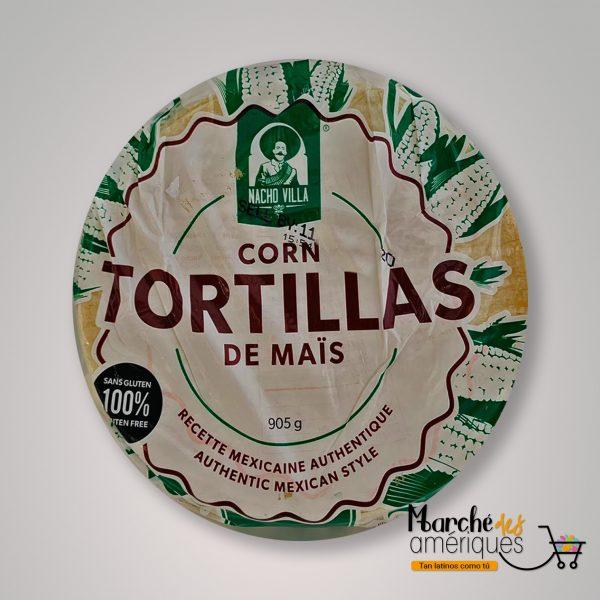 Tortilla De Maiz Nacho Villa 905 G