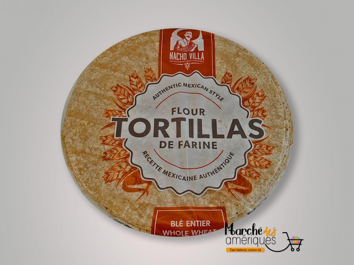 Tortillas Ble Entier Nacho Villa 10 X 675 G