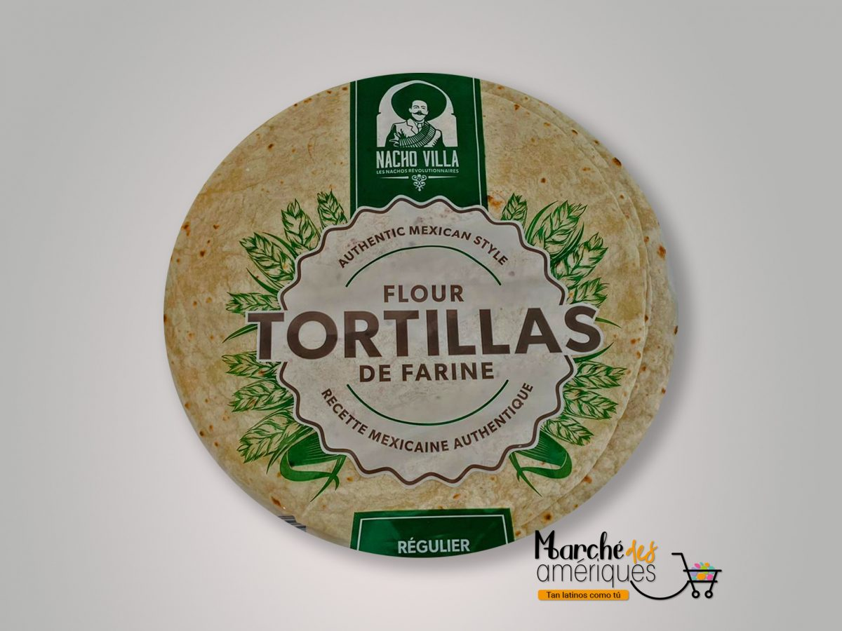 Tortillas De Farine Nacho Villa 10 X 375 G