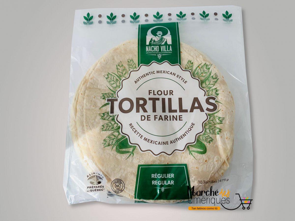 Tortillas Regulier Nacho Villa 10 X 675 G
