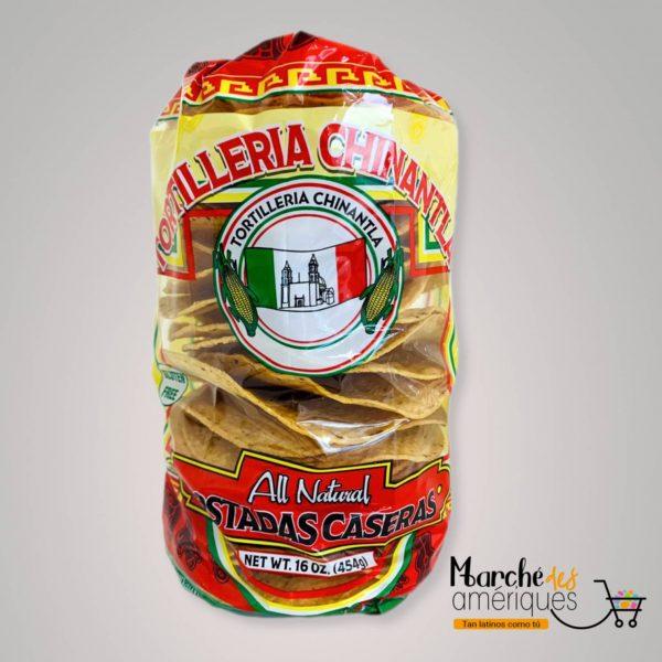 Tostada Casera De Maiz Chinantla 454 G