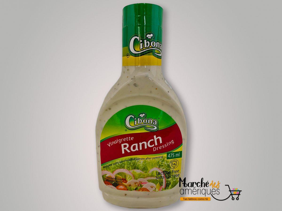 Vinaigreta Ranch Cibona 475 Ml