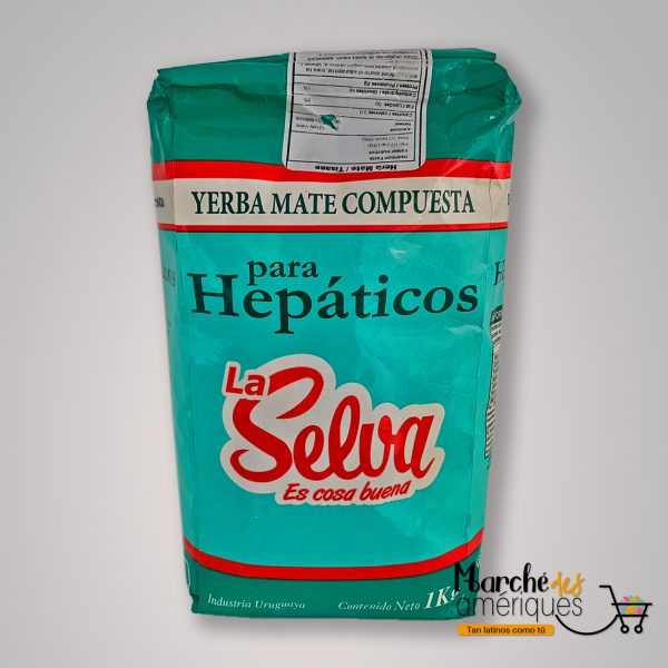 Yerba Mate Para Hepaticos La Selva 1 K G